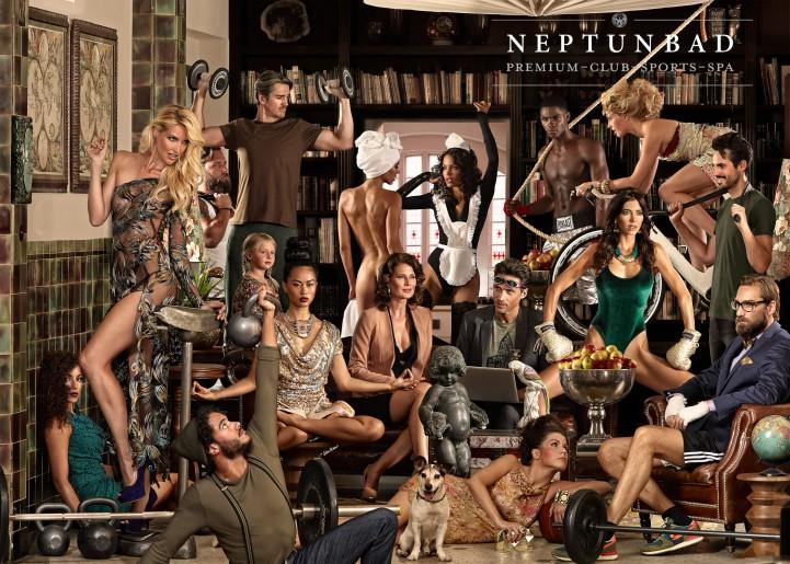 Neptunbad Image Campaign