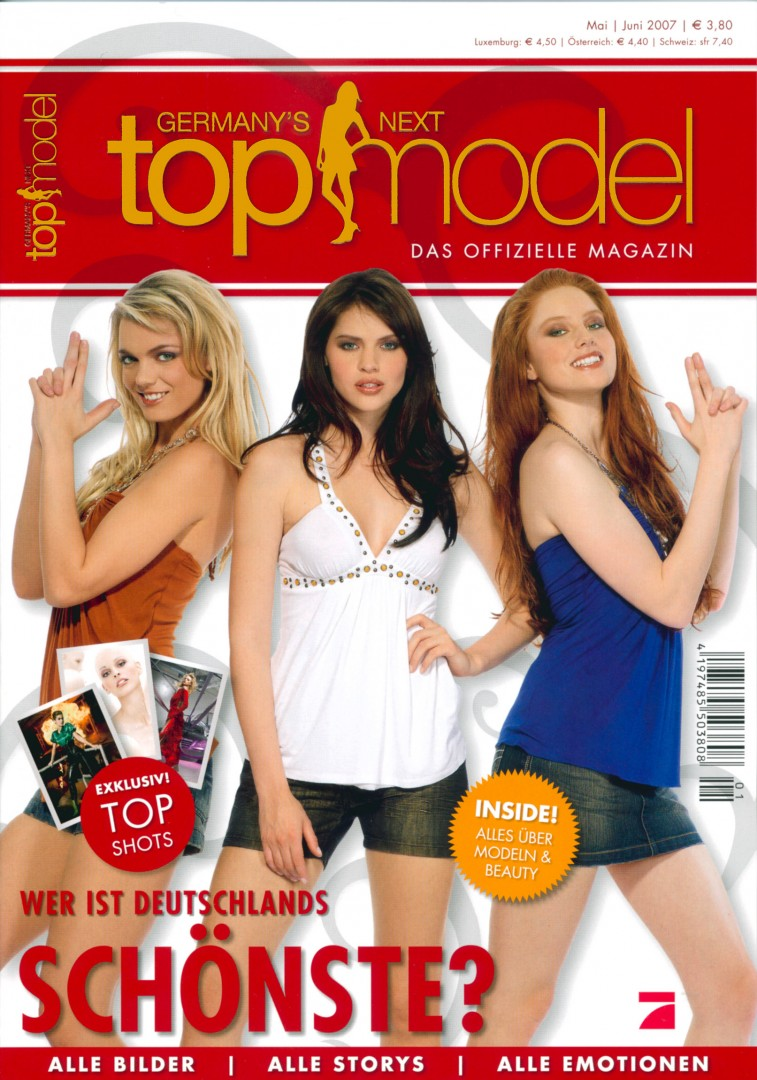 Cover Topmodels Hanna Nitsche